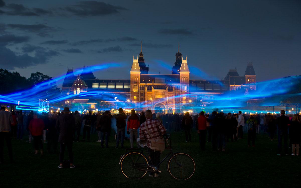 Waterlicht Museum plein Roosegaarde
